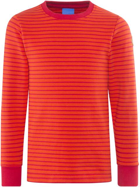 Finkid Rivi - Camiseta de manga larga Niños - rojo